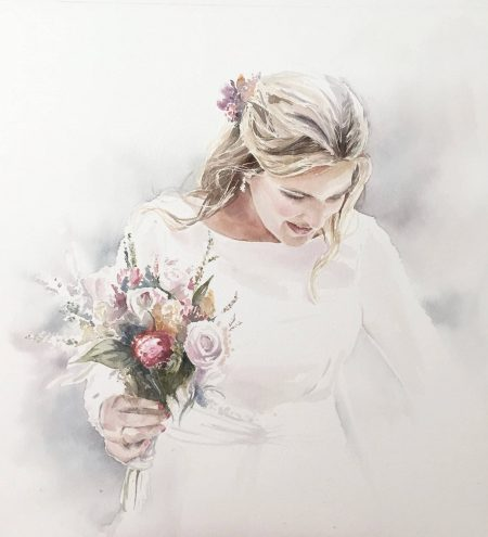 Acuarelas de boda